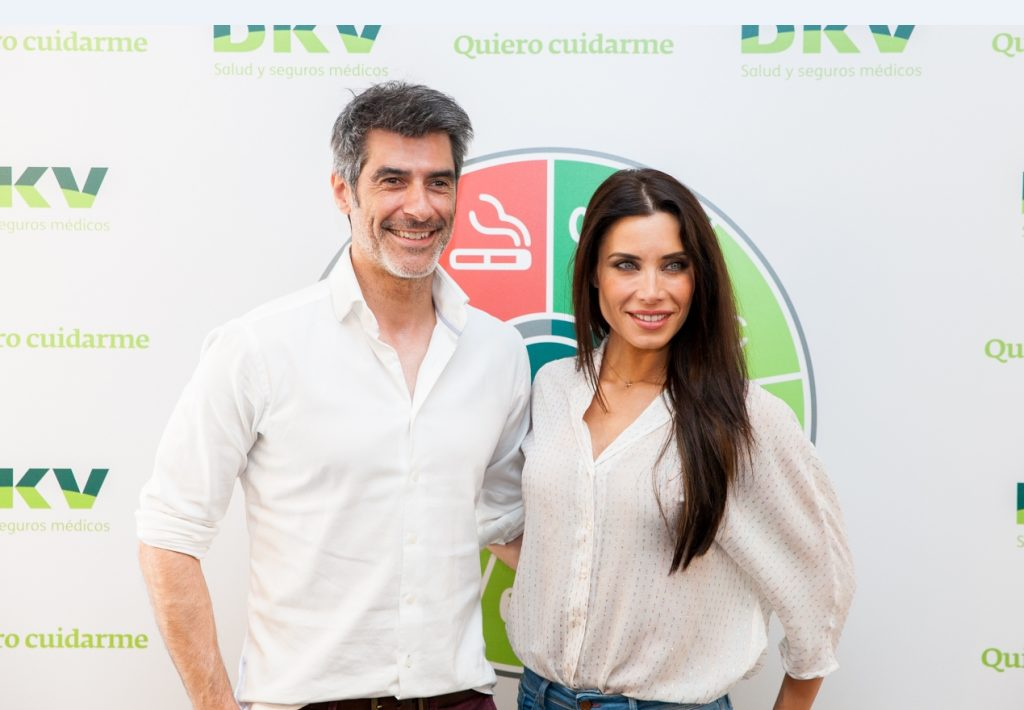 Jorge Fernández y Pilar Rubio