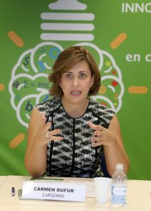 Carmen Dufur, directora de Estrategia de Ciberseguridad de Capgemini