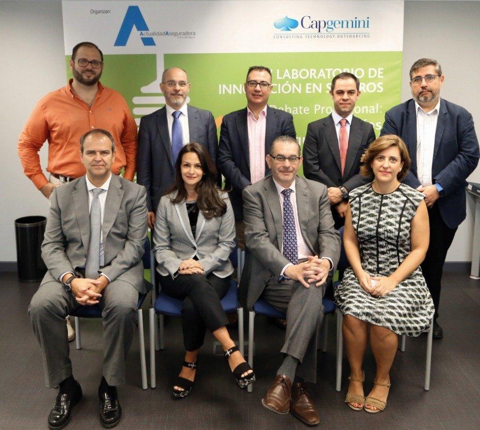 Asistentes al Laboratorio de Innovación organizado por Actualidad Aseguradora y Capgemini