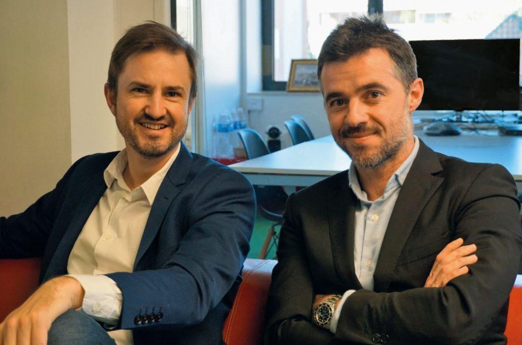 Guillem Serra (cofounder) y Sergio Barrio (CEO)