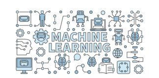 Ilustracion de machine learning