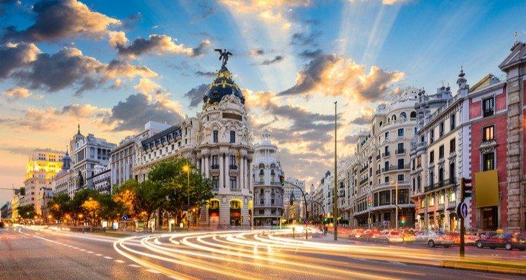 Madrid coche autónomo