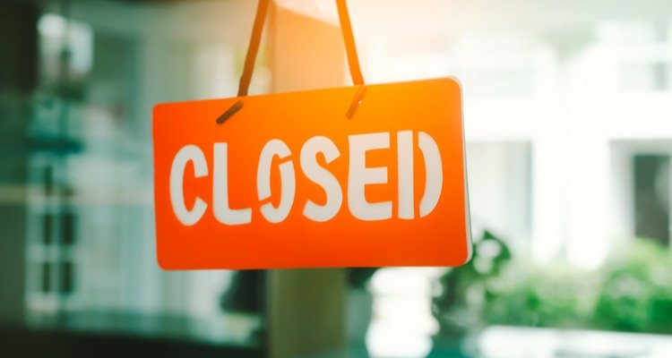 cerrado cartel negocio
