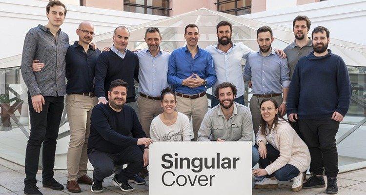Grupo de trabajadores de SingularCover