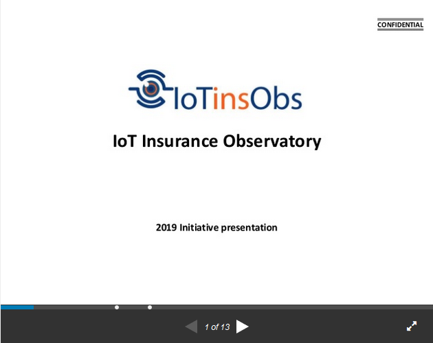 IoT Insurance Observatory