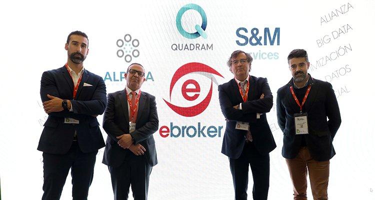 cuatro personas - ebroker y especialistas en User Experience (UX)