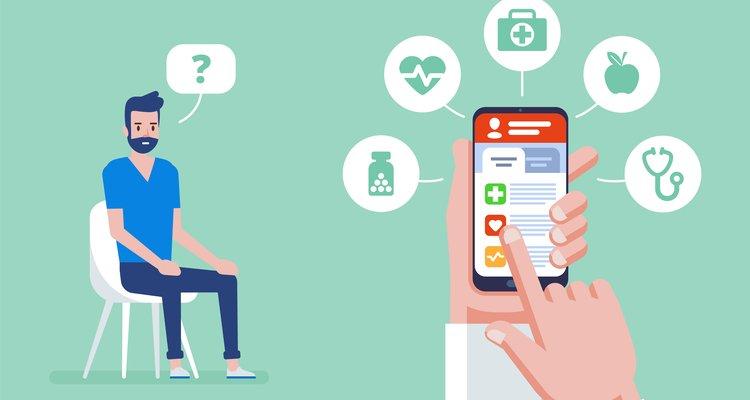Infografía doctor digital