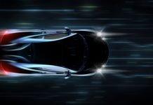 coche concepto futurista - movilidad