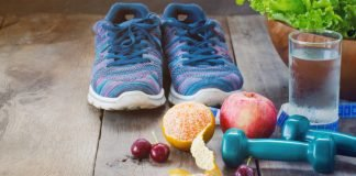 deporte y nutrición - concepto