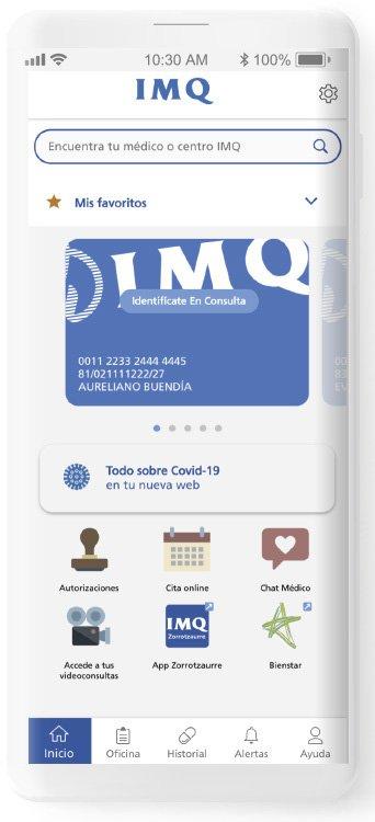 imq - inith app