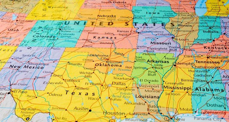 EEUU mapa