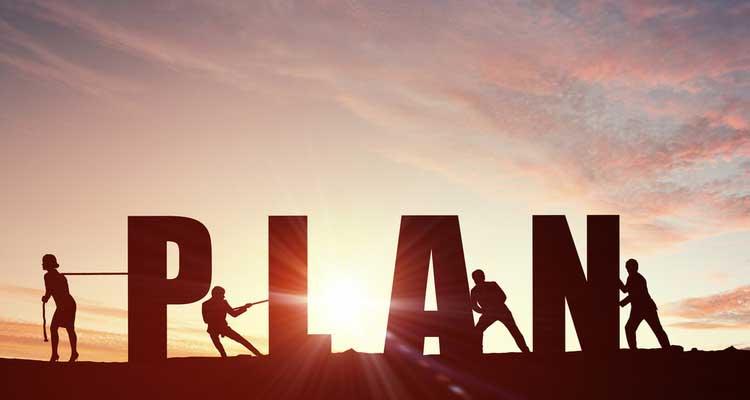 concepto de plan