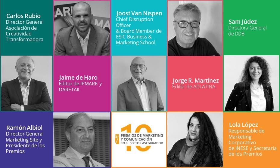 Jurado Premios Marketing y Comunicación en Seguros