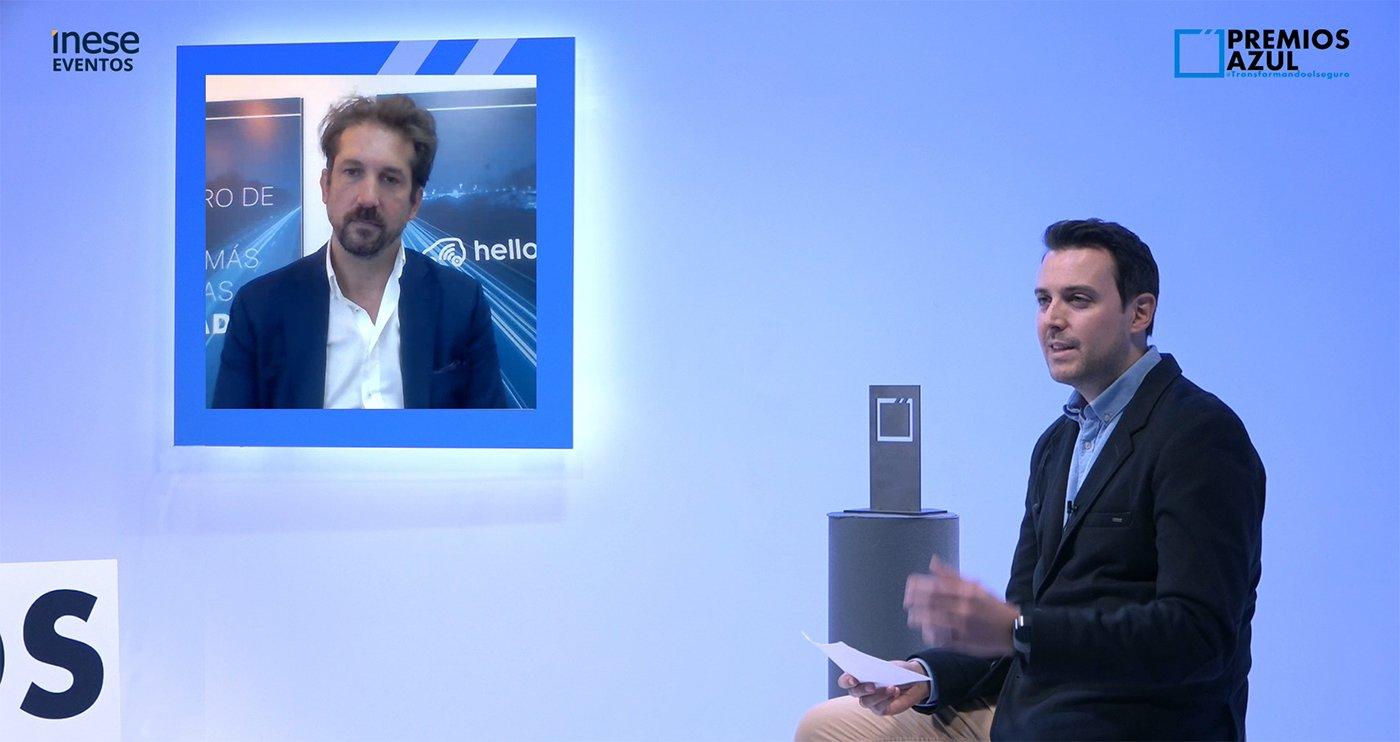 Martín Martínez charla online con Pedro Tomé sobre Hello Auto