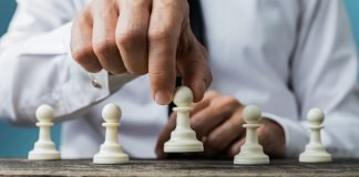 alianza concepto, ajedrez estrategia