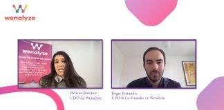Wenalyze webinar con Rebeca Jiménez y Roger Ferrandis