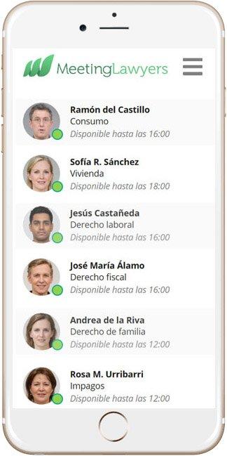 Meeting Lawyers app