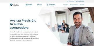 web Avanza Prevision Mutualidad de la Abogacia