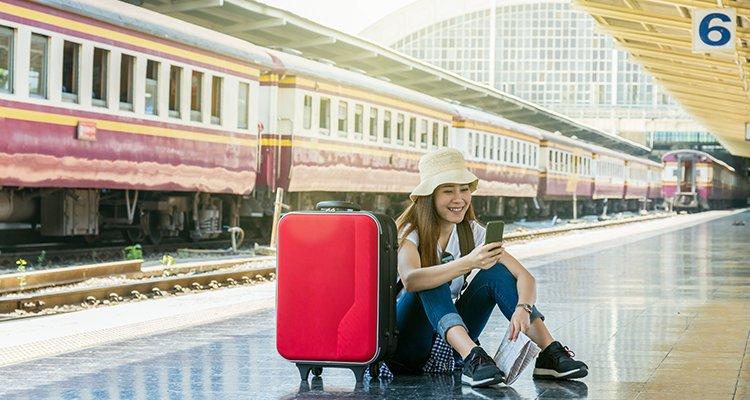 viaje móvil app