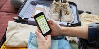 viaje aplicación móvil viaje